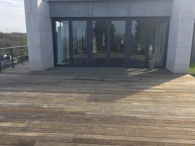 Après Nettoyage terrasse